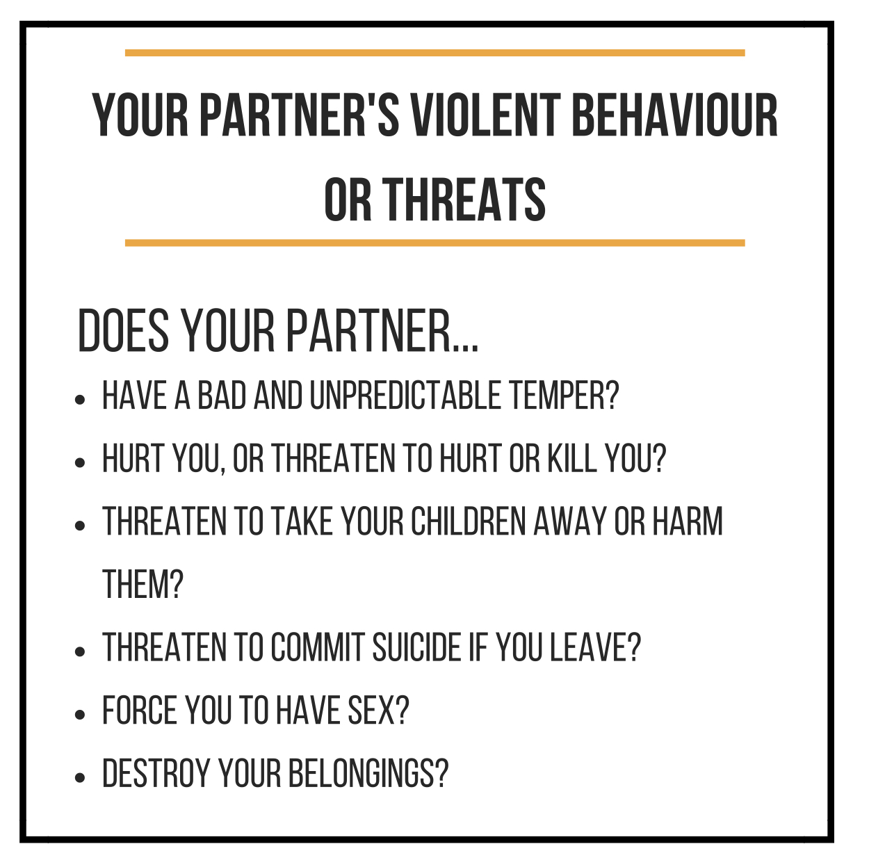 Violent Behaviour (1)
