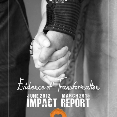 Impact Report 2015 Cover Front